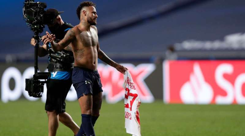 Brazilian star, Neymar to face UEFA ban after swapping shirt with RB Leipzig player