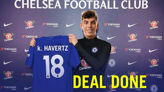 Chelsea officially announces £90M Kai Havertz signing on a five-year deal