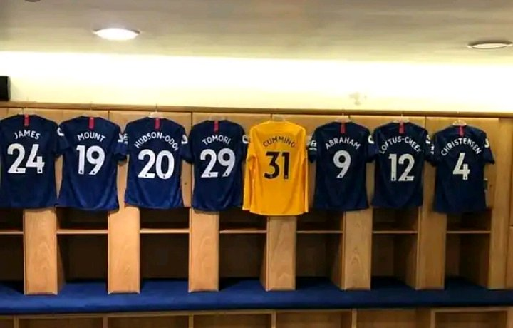 Chelsea shirt number available to Kai Havertz Timo Werner and Hakim Ziyech