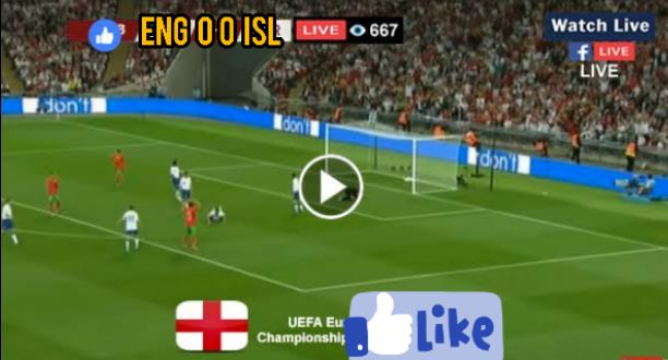 Iceland vs England Live Streaming, Watch Free Online and TV