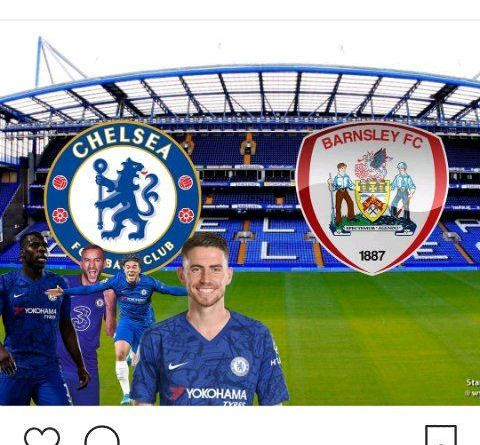 Thiago Silva, Ben Chilwell Top Chelsea Lineup Against Barnsley In The Carabao Cup