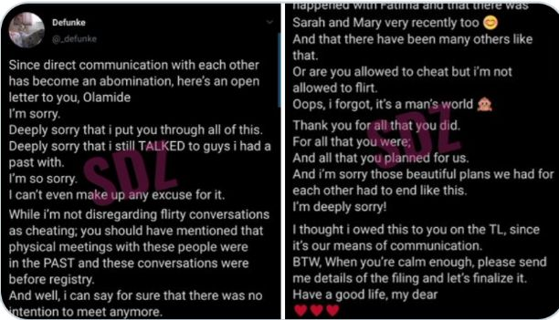 Twitter users react as Defunke pens open letter to Olamide, asking who's Fatima, Sarah and Mary