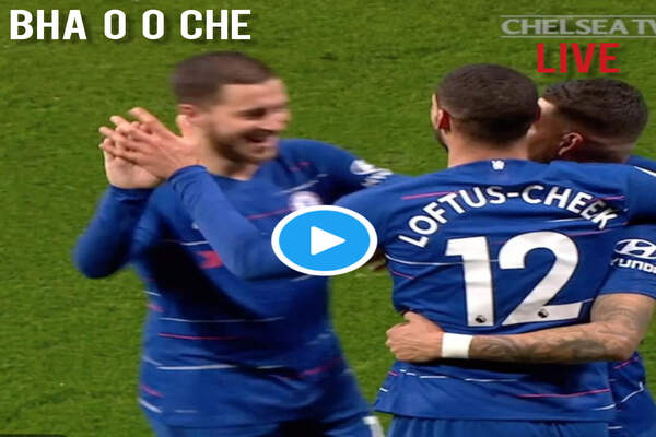 Watch Brighton vs Chelsea LIVE Streaming, #BHACHE