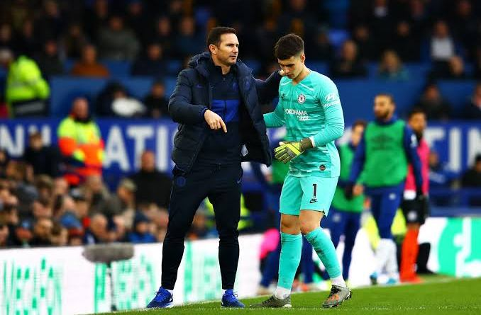 Frank Lampard gives update on Kepa and Caballero ahead of EFL Cup against Barnsley
