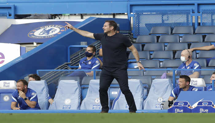 Chelsea players react to Frank Lampard formation after losing 2-0 to Liverpool