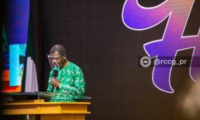 Pastor Adeboye prophesies that any terrorist and their sponsor will no see the new Year