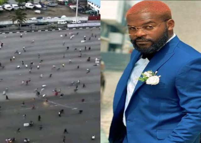 Lekki Killings: Falz tells those involved in killing of #EndSARS protesters must pay for it