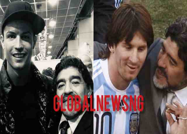 Ronaldo, Messi pay tribute to Diego Armando Maradona who died on Nov. 25