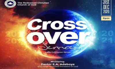 RCCG Crossover Service 2020 does not cancel - Pastor Adeboye