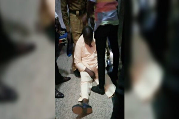 Reactions As Maina Collapses In Court