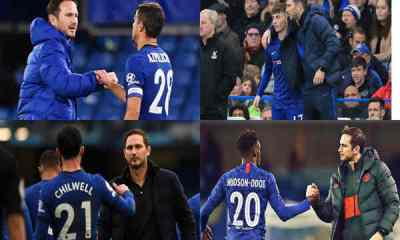 Chelsea players finally react to sacking his boss Lampard
