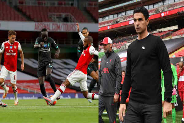 Arsenal Vs Liverpool: Mane Predicted Tough Game For Mikel Arteta's Men