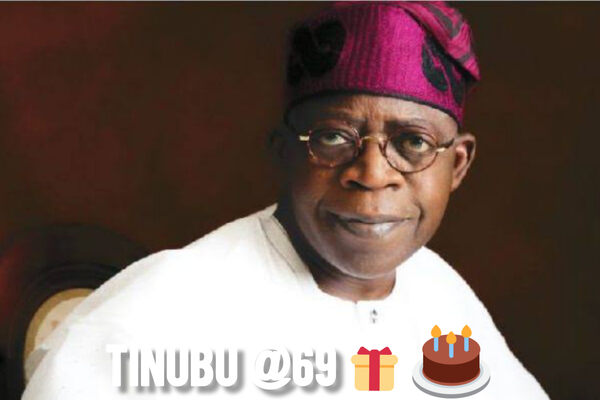 Bola Tinubu celebrates 69th birthday today
