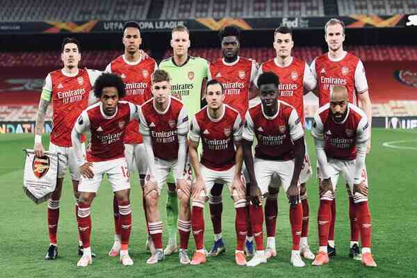 Mikel Arteta releases Arsenal squad, lineup against Slavia Prague