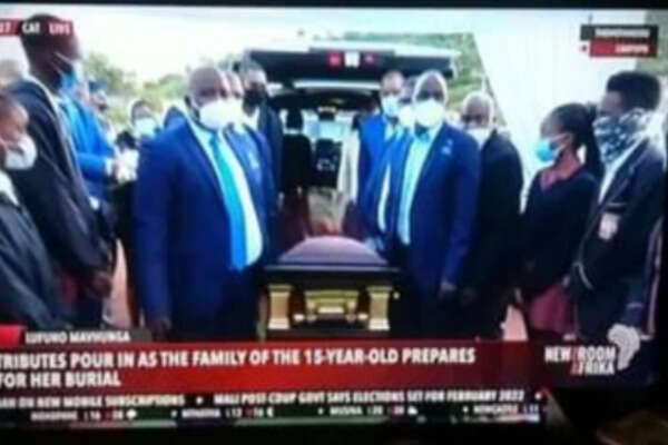 Tears as LUFUNO MAVHUNGA finally laid to rest (photos)