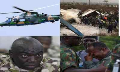 Nigerian Army announces the death of Chief of Army Staff, Lieutenant General Ibrahim Attahiru, other 10 officers who involved in a plane crash