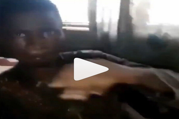 Viral video of Ekiti State University student arrested after allegedly try to use friend for money ritual