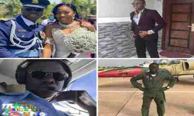 Lt.AA Olufade married two months ago, died in plane crash today - reactions