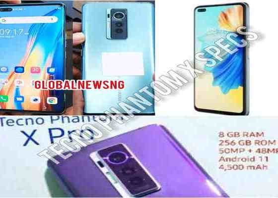 Tecno Phantom X specifications, 48MP camera, 4700mAh battery and features