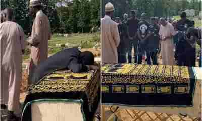Tears as Sound Sultan buried in the U.S