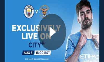 Watch Manchester City vs Blackpool Live Streaming