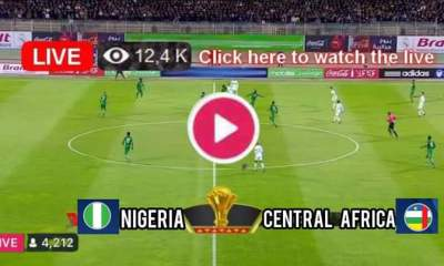 How to Watch Nigeria vs Central African Republic Live Stream On TV and Online