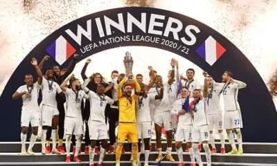 ESP 1-2 FRA: France come from behind to beat Spain 2-1 to win UEFA Nations League title