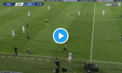 Where To Watch Juventus vs Sassuolo Live Streaming