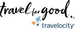 Travel for Good Travelocity logo