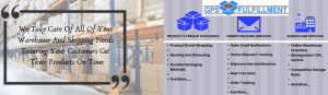 Warehouse Climate Controlled Storage Fulfillment Services