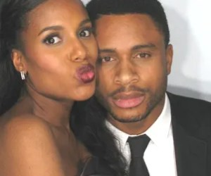Kerry Washington and her husband, retired NFL player Nnamdi Asomugha