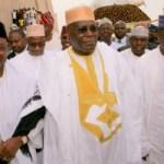 May 29: Atiku stands-in for Buhari at National Mosque for Juma'at prayers