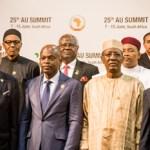 (Photonews) Buhari and the AU Family Photo