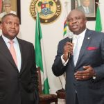 Ambode hosts Dangote; reiterates commitment to make Lagos investors' haven