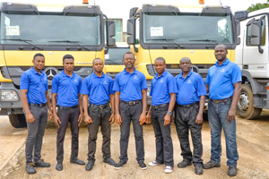 The staff of Tetralog Nigeria Limited