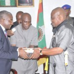 Wike swears-in new HoS; partners with P/Harcourt Refinery on road repairs