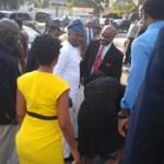 Governor Ambode rescues accident victim in Lagos