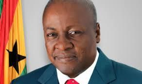 Ghana President, John Dramani Mahama