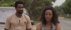 Scene from the film 'Road to Yesteday' starring Genevieve Nnaji