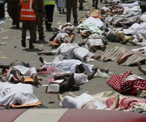 Victims of the stampede