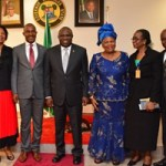 (Photonews) Gov Ambode receives Nigeria Christian Pilgrims Commission at Lagos House, Ikeja