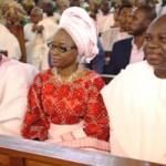 (Photonews) Gov. Ambode graces wedding ceremony of Prince Olagunsoye Oyinlola's daughter at TBS, Lagos