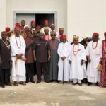 (Photonews) South-East Council of Traditional Rulers' Executive Members visit Governor Ikpeazu in Umuahia