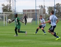 Golden Eaglets in action against Argentina