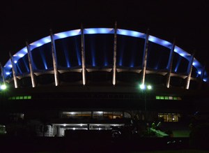 National Theatre Lagos - front view