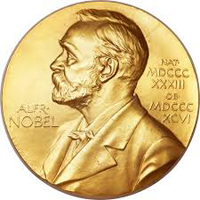 The Nobel Prize medallion