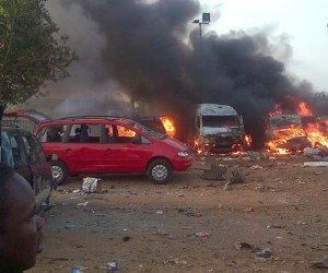 Nyanya motor park hit by suicide bomb attacks on Friday