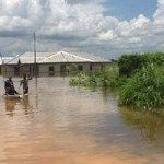 River Benue breaks banks, submerges communities in Makurdi