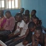 17 suspected killers of Disu, Lekki Free Trade company boss, arraigned in court