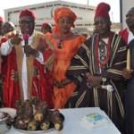 (Photonews) Ndigbo celebrate New Yam Festival 2015 in Lagos